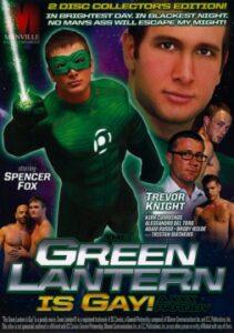 The Green Lantern is Gay A XXX Parody