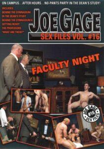 Joe Gage Sex Files 16 Faculty Night